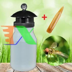 Picture of Dụng cụ bẫy Ruồi vàng BR-1K, Bình bẫy Ruồi Muỗi Ong, Chai bẫy Ruồi Dấm