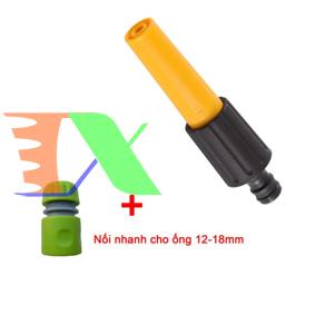 Ảnh của Vòi xịt nước tưới cây VPN-2030, Vòi nhựa thẳng kèm Đầu nối nhanh 12-16 mm