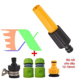 Ảnh của Bộ phụ kiện tưới cây, Rửa xe 5 món VPN-5020, Vòi nhựa thằng + Bộ nối nhanh 12-18 mm