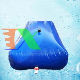 Picture of Túi PVC chứa nước chống hạn hán THV-10 m3, Bồn nhựa trữ nước di động chống xâm mặn