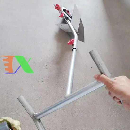 Picture of Cày tay Người kéo có bánh xe CN-150 cm, Dụng cụ làm tơi xốp đất, Vun đậu ngô, Xới cỏ