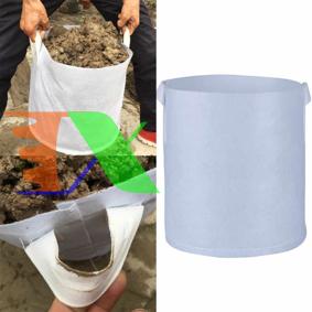 Ảnh của Túi trồng cây 2 quai Φ60*H45, Túi trồng cây công trình bằng Vải địa kỹ thuật không dệt