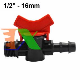 """Ảnh của Khởi thủy Van khóa TM-16B Ren 21 ra ống Φ16 mm, Van khóa dây PE LDPE HDPE PVC 1/2""""-16 mm"""