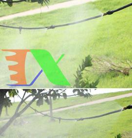 Ảnh của Béc tưới phun sương MT-309H 50 lit / h, Đầu phun sương bằng đồng Kèm phụ kiện, Tưới cây làm mát