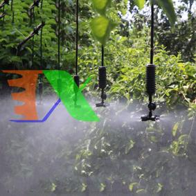 Ảnh của Béc tưới phun sương 4 đầu MT-309 30 lit / h, Đầu phun sương Kèm phụ kiện, Tưới cây làm mát