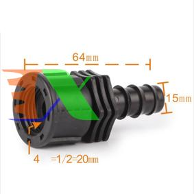 Ảnh của Khởi thủy TKR-1216T Ren 21 ra ống Φ16 mm, Khởi thủy cho dây PVC PE HDPE LDPE