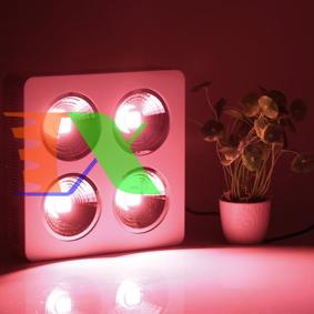 Ảnh của Đèn Led trồng cây đủ phổ COB-4, Đèn led hỗ trợ trồng cây trong nhà, Led grow light
