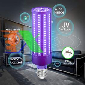 Picture of Đèn led sát khuẩn E27.65, Đèn cực tím UV-A diệt khuẩn virut không khí 65W