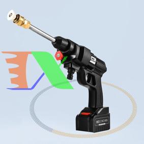 Picture of Máy rửa xe áp lực cao, Máy phun nước đa năng 24V 200W 30bar