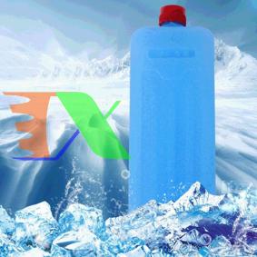 Ảnh của Đá khô CO2 DK200 giữ lạnh sữa, bia, rượu, Hộp băng khô dạng gel cho quạt điều hòa, du lịch, phượt