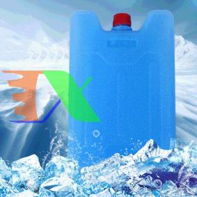 Ảnh của Đá khô CO2 DK500 giữ lạnh sữa, bia, rượu, Hộp băng khô dạng gel cho quạt điều hòa, du lịch, phượt