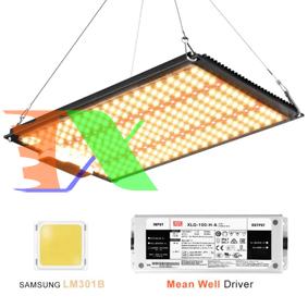 Ảnh của Đèn trồng cây Lượng tử QBS1000, Led grow lights chip Samsung 1000W, Đèn trồng rau trong nhà