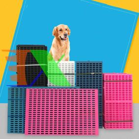 Ảnh của Tấm lót chuồng Pet size M 47*34*1cm, Sàn nhựa lót cho vật nuôi, thú cưng