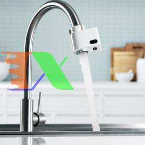 Ảnh của Vòi nước cảm biến tự động XDJ011, Đầu vòi cảm biến hồng ngoại Chống tràn