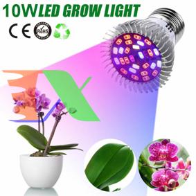Picture of Đèn trồng cây, Đèn led trồng rau trong nhà, Led grow lights E27 10W