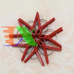 Picture of Kẹp nhựa cố định ghép cây KGT-3, Kẹp ghép cà chua, Kẹp ghép dưa lưới, dưa leo, Ghép nho, Ghép hoa