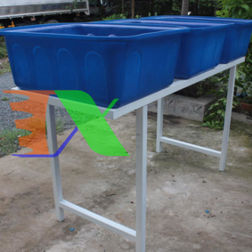 Picture of Khay nhựa trồng Aquaponics 200l